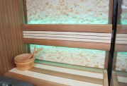 Sauna sec et hammam avec douche AU-002B
