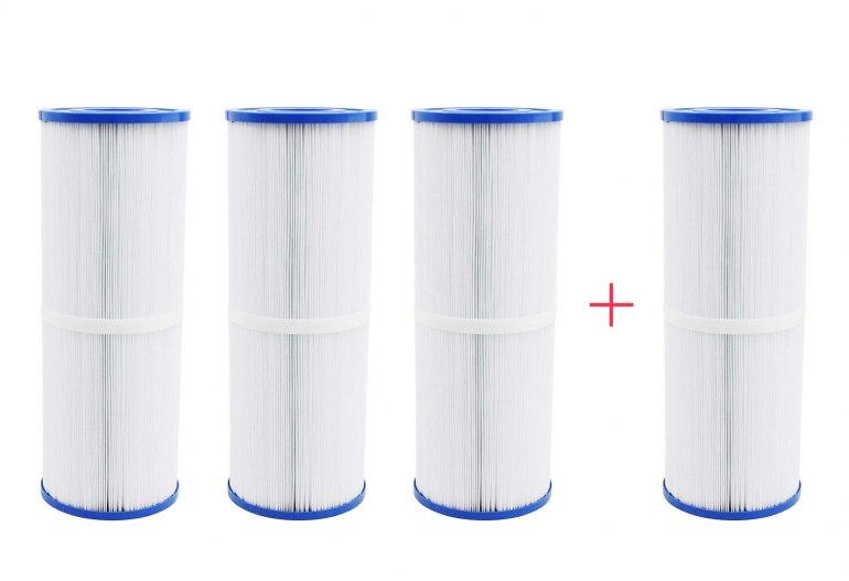 Pack 4x3 filtres longs pour spa