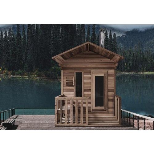 Sauna extérieur en forme de hutte AC-001B