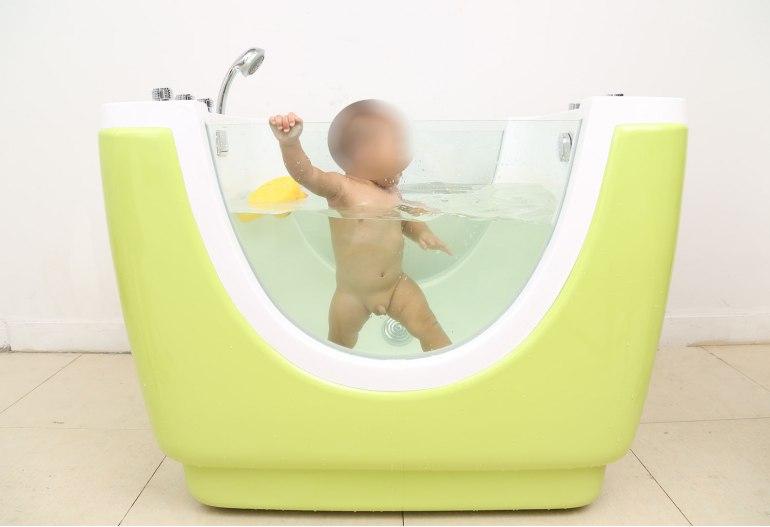 Baignoire balnéo jacuzzi pour bébé HS