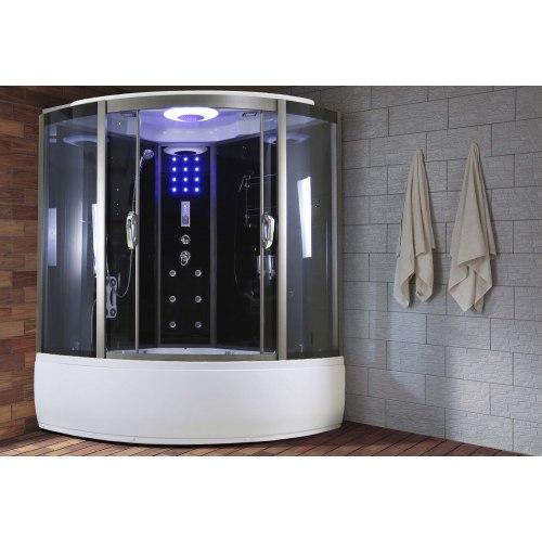 Cabine de douche hydromassage économique AR-007 (avec hammam et baignoire)