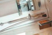 Sauna sec + hammam avec douche hydromassante AS-002