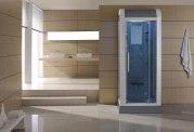 Cabine de douche hydromassante avec hammam AS-010A