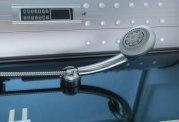 Cabine de douche hydromassante avec hammam et baignoire AT-012C