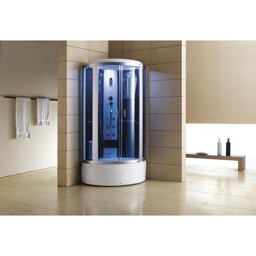 Cabine de douche hydromassante avec hammam et baignoire AT-002-1