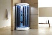 Cabine de douche hydromassante avec hammam AS-019