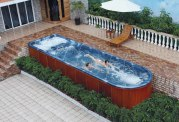 Piscine spa de nage AT-006