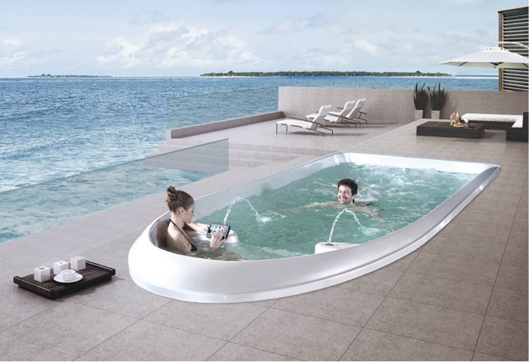 Piscine spa de nage AT-010B