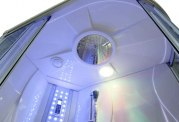 Cabine de douche hydromassante avec hammam et baignoire AT-004-1