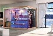 Sauna sec et hammam avec douche AT-002A