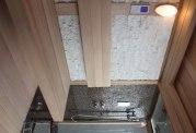 Sauna sec et hammam avec douche AT-002B