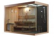 Sauna sec et hammam avec douche AT-002C