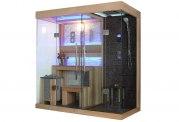 Sauna sec et hammam avec douche AT-001B