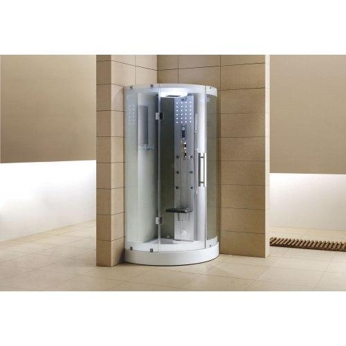 Cabine de douche hydromassante avec hammam AS-003A-2