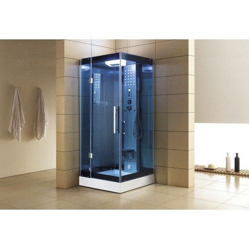 Cabine de douche hydromassante avec hammam AS-004B-2
