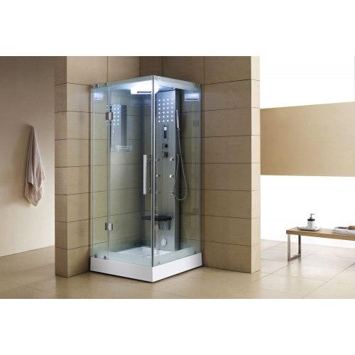 Cabine de douche hydromassante avec hammam AS-004A-3