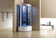 Cabine de douche hydromassante avec hammam et baignoire AT-002-2