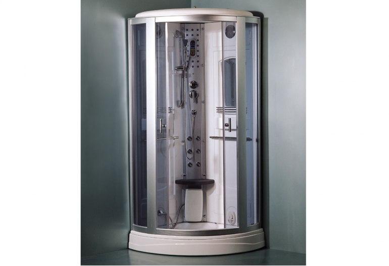 Cabine de douche hydromassante avec hammam AS-017-2
