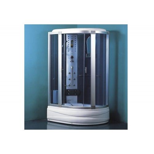Cabine de douche hydromassante avec hammam et baignoire AT-005-2