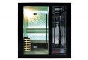 Sauna sec et hammam avec douche AU-001B